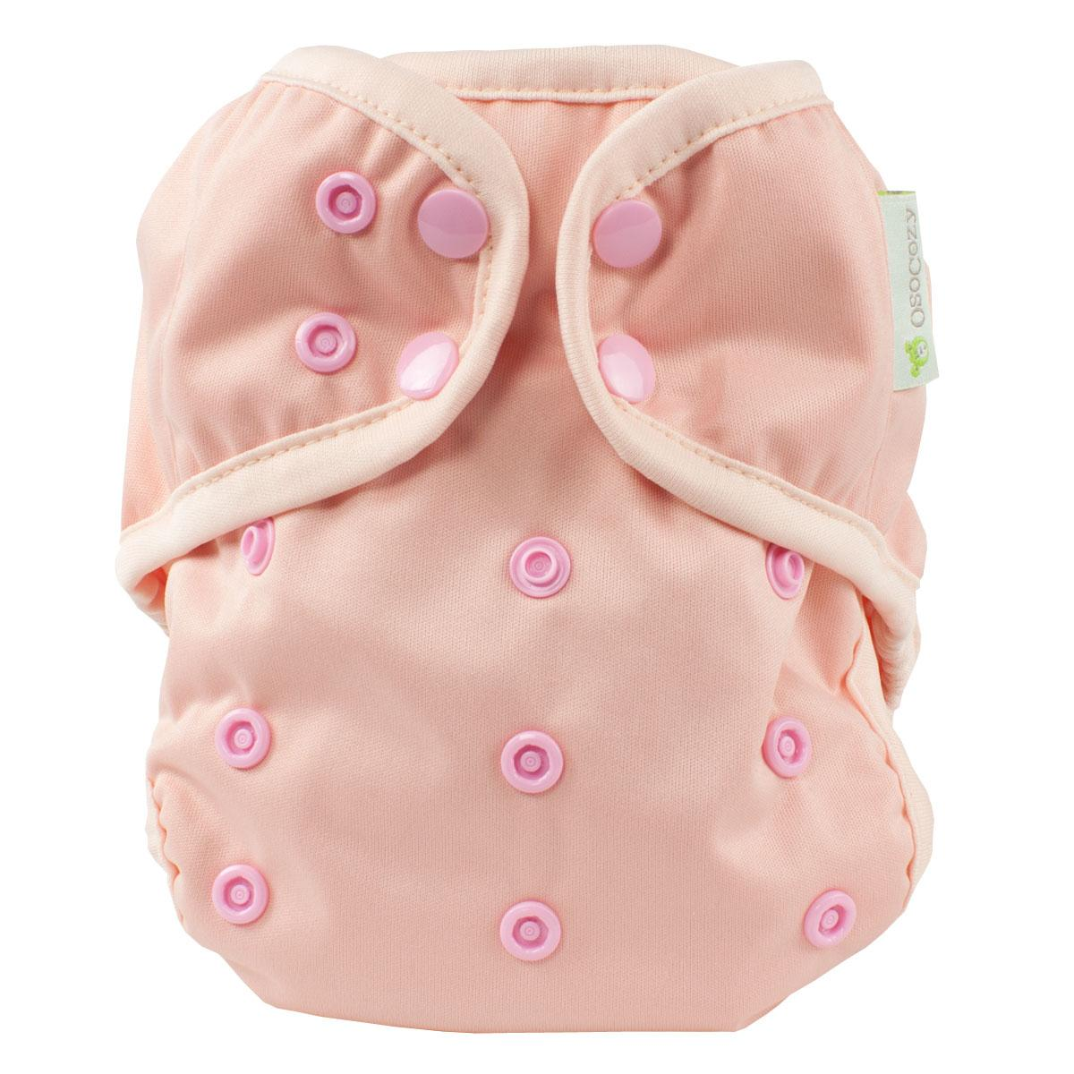 pink osocozy onesize diaper cover